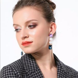 New Style✨ Colorful Acrylic Drop Earrings 😍